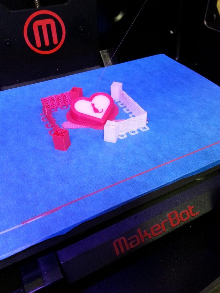 Gadgetcat Valentine 3D Print